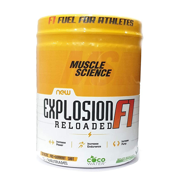 Muscle Science Explosion Pre Workout 30 Servings - The Muscle Kart.com