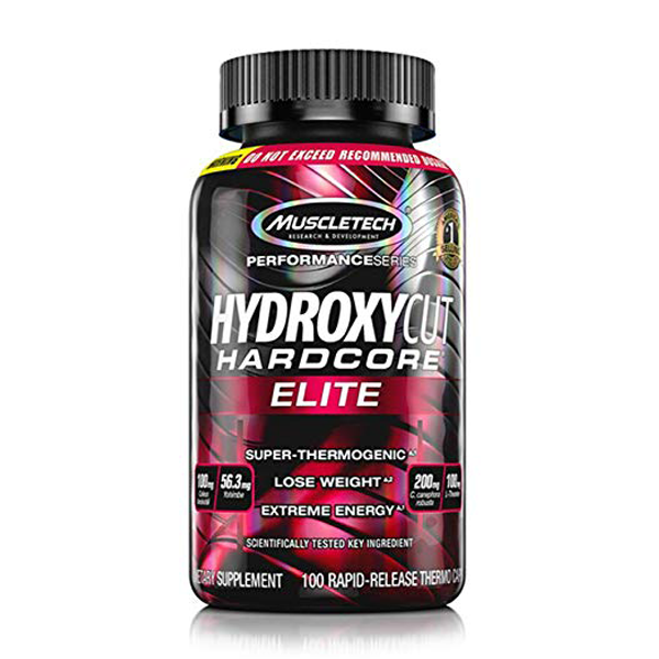 MuscleTech Hydroxycut Hardcore Elite 110 Capsules - The Muscle Kart.com