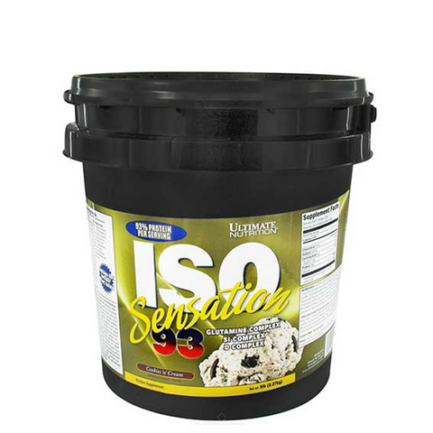 Ultimate Nutrition ISO Sensation 93 5lbs - The Muscle Kart.com