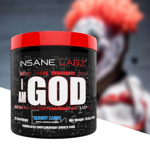 Insane Labz I am God 25 Servings - The Muscle Kart.com