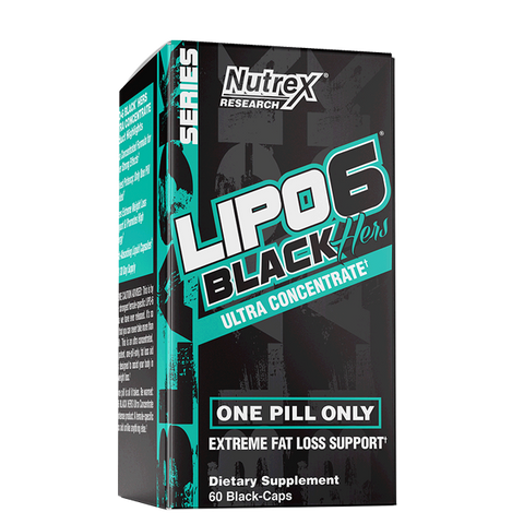Nutrex Lipo-6 Black Hers 60 Caps - The Muscle Kart.com