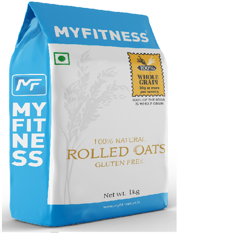 MYFITNESS Oats Bran, 1 kg - The Muscle Kart.com