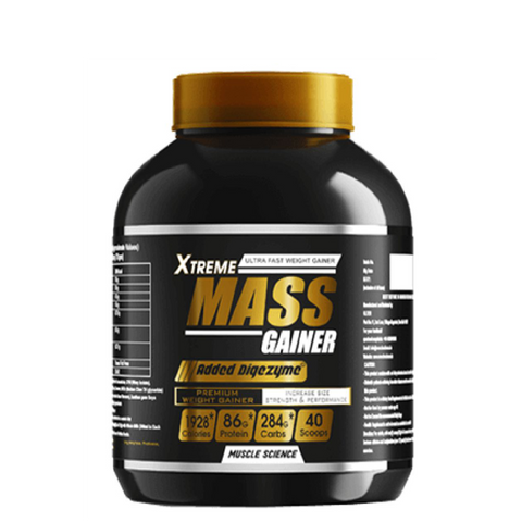 Muscle Science Xtreme Mass Gainer 3kg Chocolate - The Muscle Kart.com