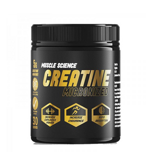Muscle Science Creatine Micronised 60 Servings - The Muscle Kart.com