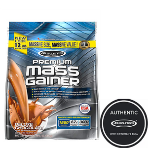 Muscletech Premium Mass Gainer 12lbs Chocolate - The Muscle Kart.com
