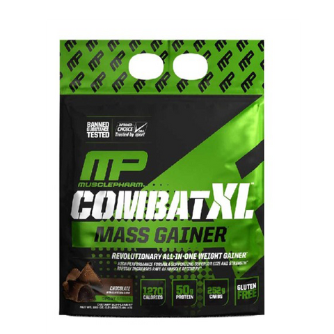 MusclePharm XL Mass Gainer 12lbs Chocolate - The Muscle Kart.com