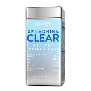 Muscletech Xenadrine Clear 120 Caps - The Muscle Kart.com