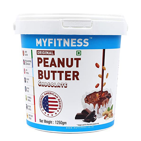 MYFITNESS Chocolate Peanut Butter 1250g - The Muscle Kart.com