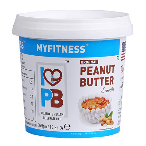 MYFITNESS Peanut Butter Smooth 1250g - The Muscle Kart.com