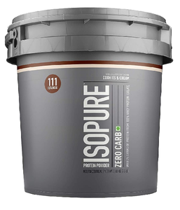 Isopure Low Carb 100% Whey Protein Isolate Powder with 25gm Protein per serve - 7.5 lbs, 3.4 kg Cookies & Cream