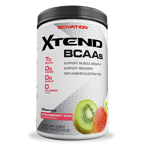 Scivation Xtend Bcaa 30 Servings Strawberry Kiwi - The Muscle Kart.com