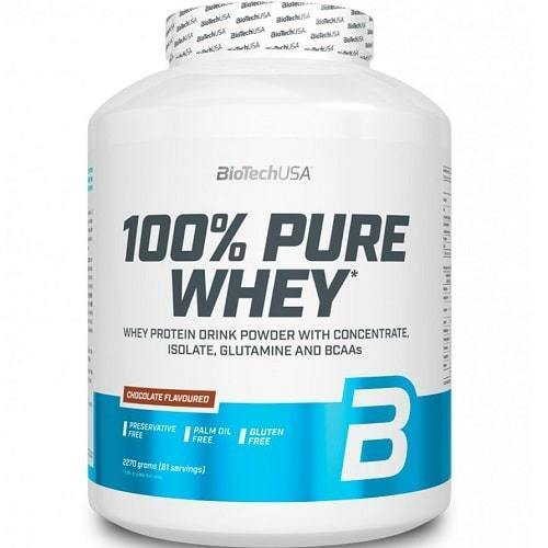 BioTechUSA  Protein 100% Pure Whey Chocolate Flavoured 2270g