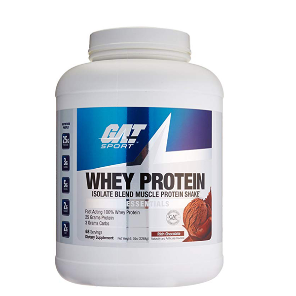GAT Sport Whey Protein 5 lbs - The Muscle Kart.com