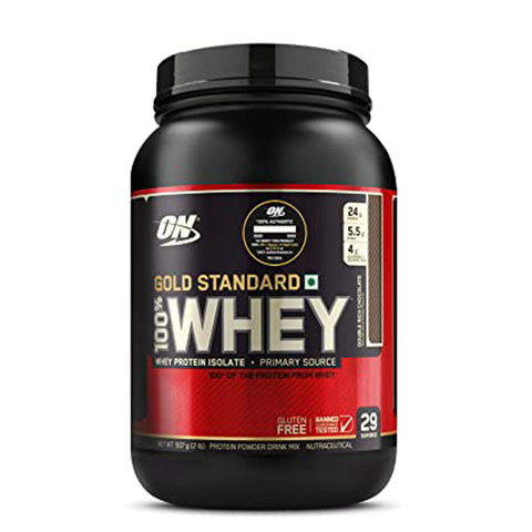 ON (Optimum Nutrition) Gold Standard 100% Whey 2lbs - The Muscle Kart.com