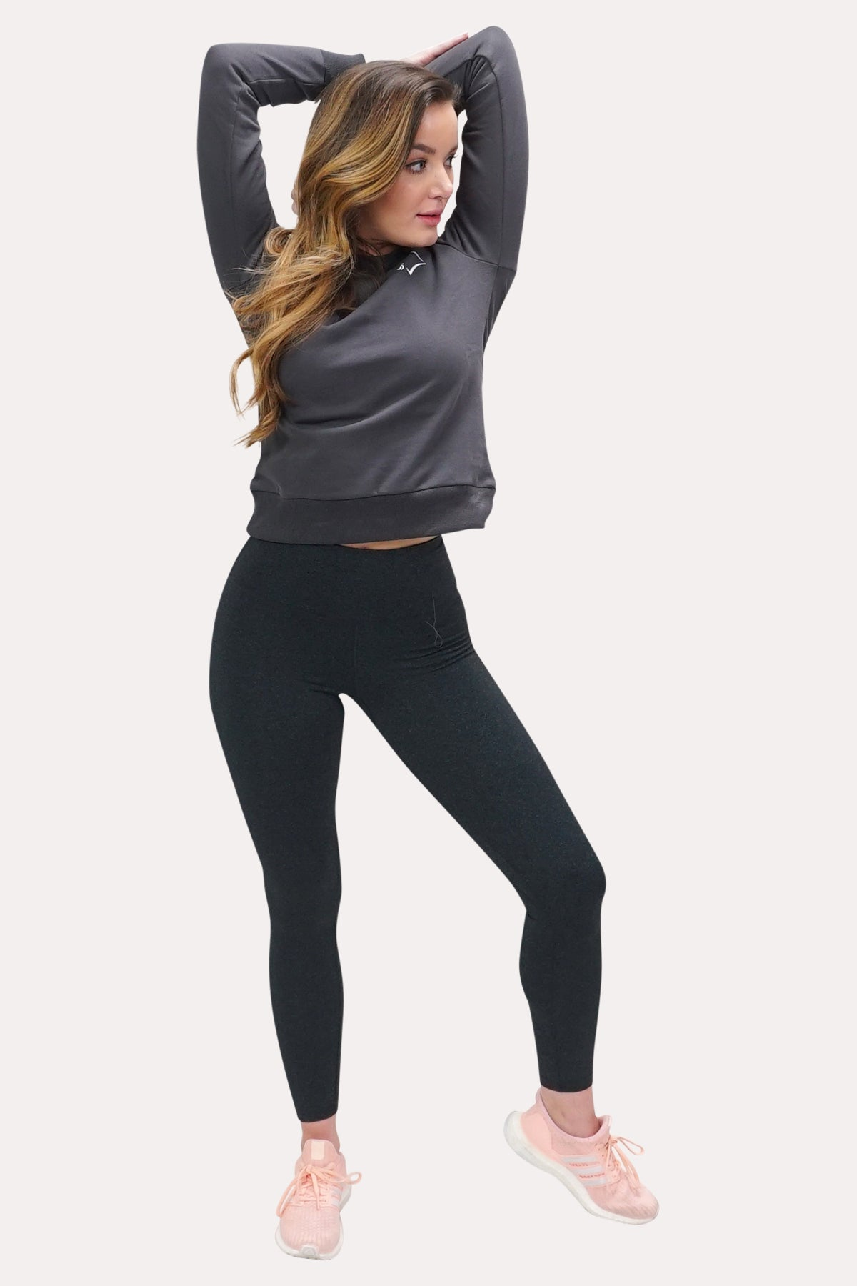 Women's Crew Neck Sweatshirt - Minimal Charcoal