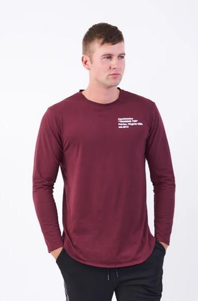 Adapt Long Sleeve - Merlot