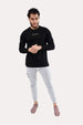 Panel Long-Sleeve - ApeAthletics Black Thumbnail