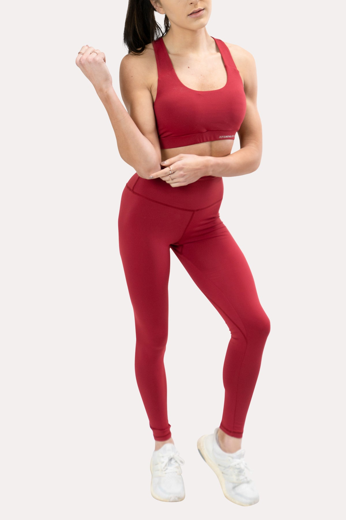 Ease Leggings - Crimson
