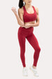 Ease Leggings - Crimson Thumbnail
