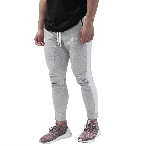 Stripe Jogger - Grey