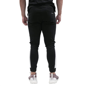 Stripe Jogger - Black