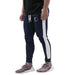 Stripe Jogger - Navy