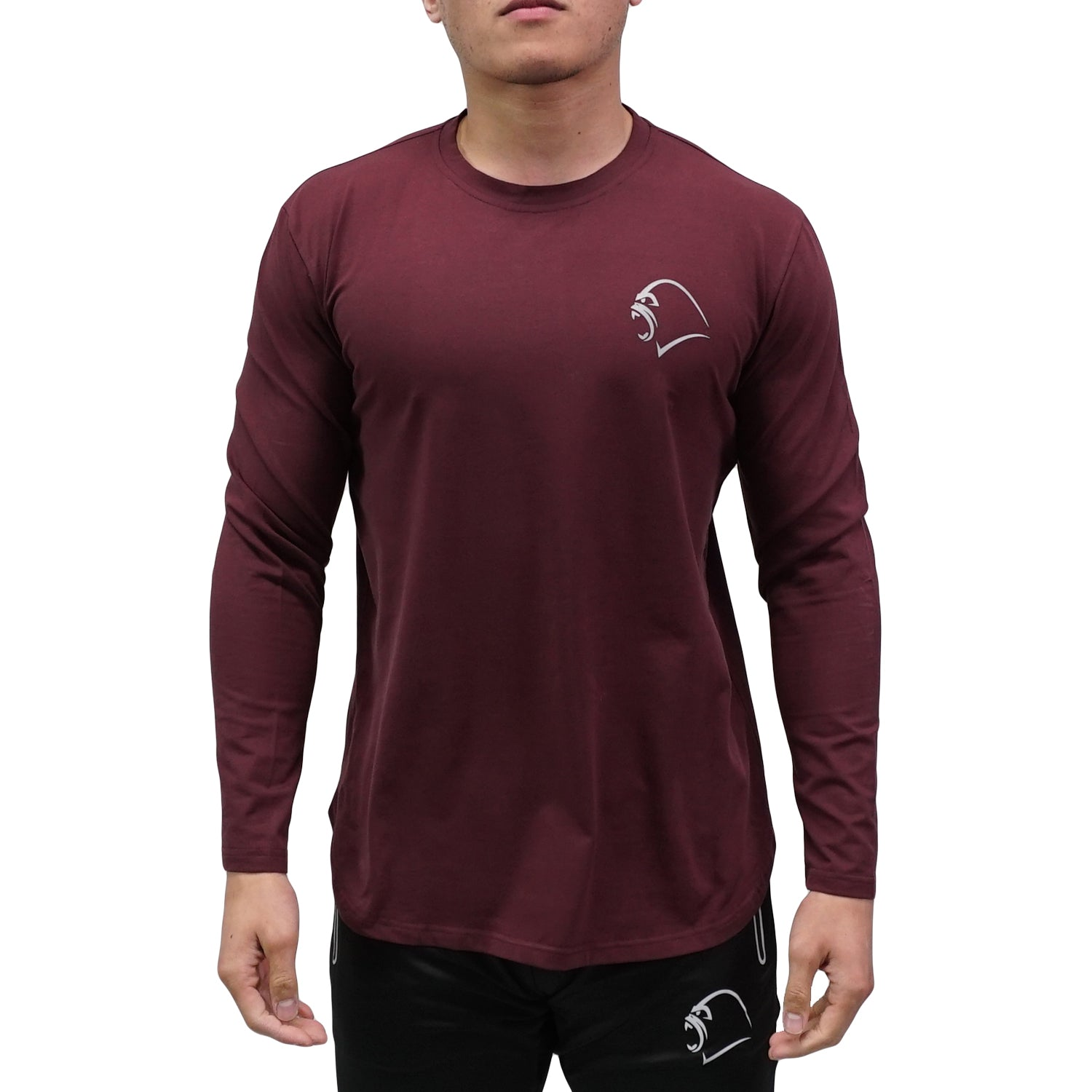 Long-Sleeve - Minimal Merlot