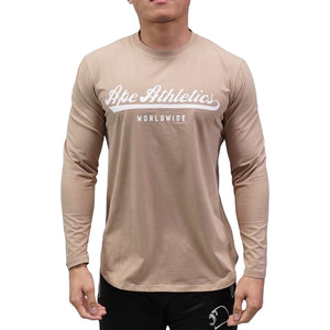 Long-Sleeve - Baseball Tan
