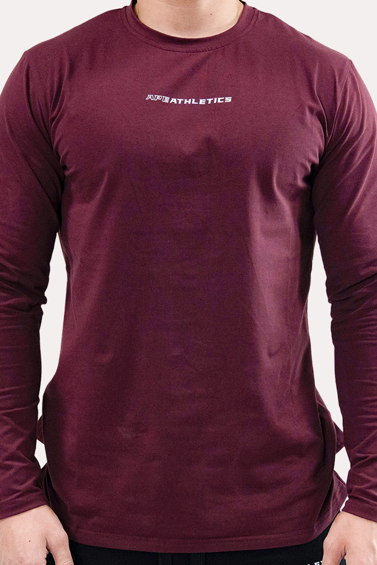 Panel Long-Sleeve - ApeAthletics Merlot