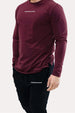 Panel Long-Sleeve - ApeAthletics Merlot Thumbnail