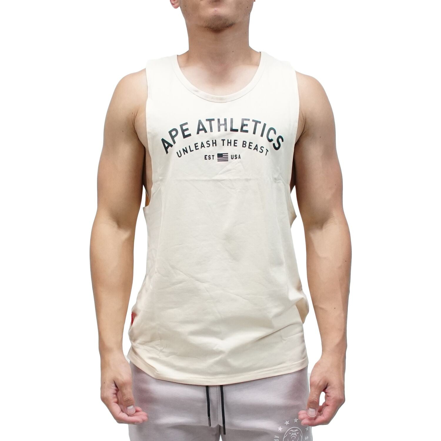 Muscle Tank - USA Oat