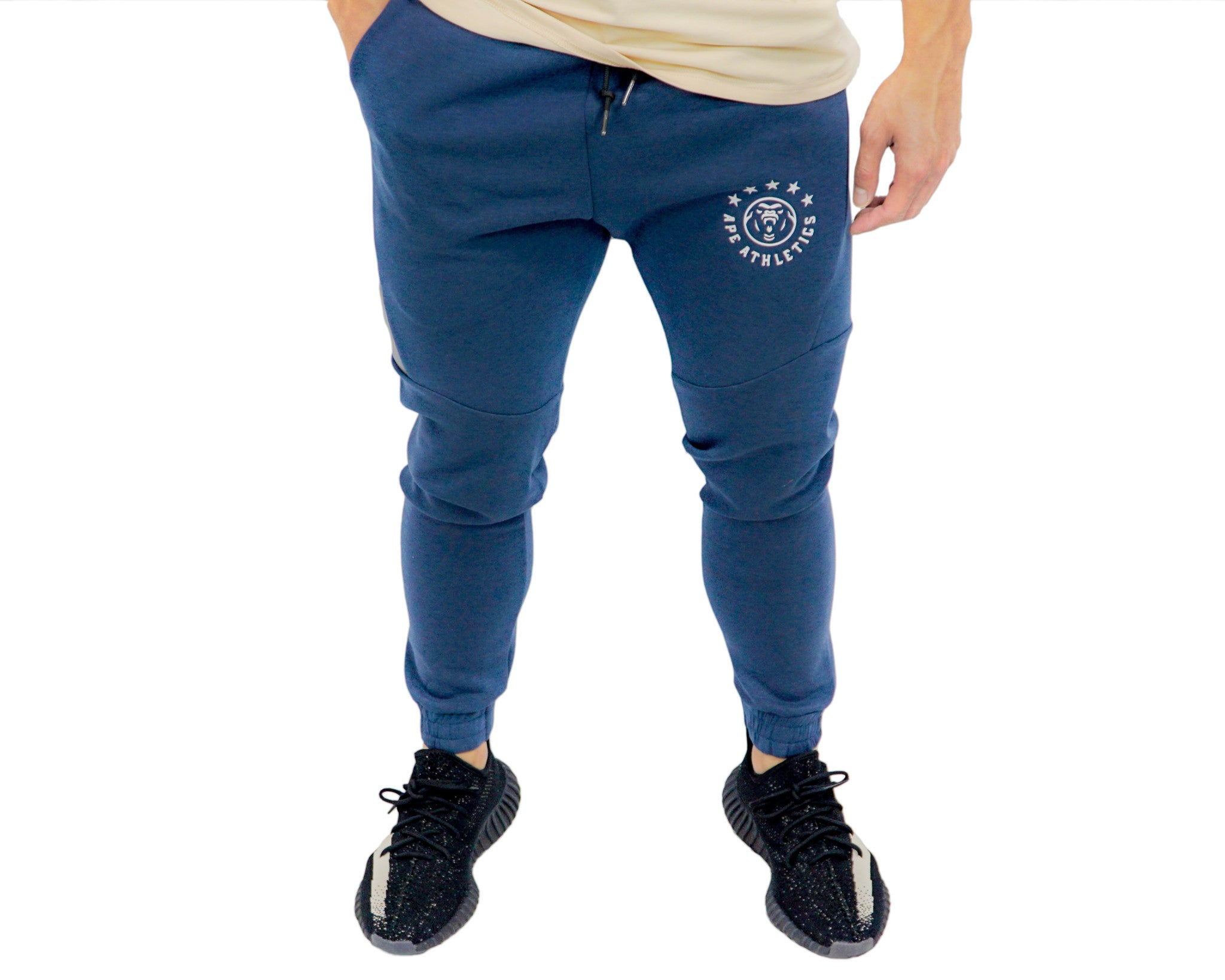 ApeAthletics Tech Joggers Navy