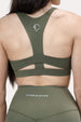Ease Sports Bra - Olive Thumbnail