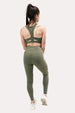 Ease Leggings - Olive Thumbnail