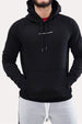 Pull-Over Hoodie - Statement Black Thumbnail
