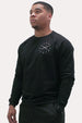 Crew Neck Sweatshirt - X Black Thumbnail