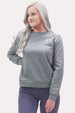 Women's Crew Neck Sweatshirt - Minimal Grey Thumbnail