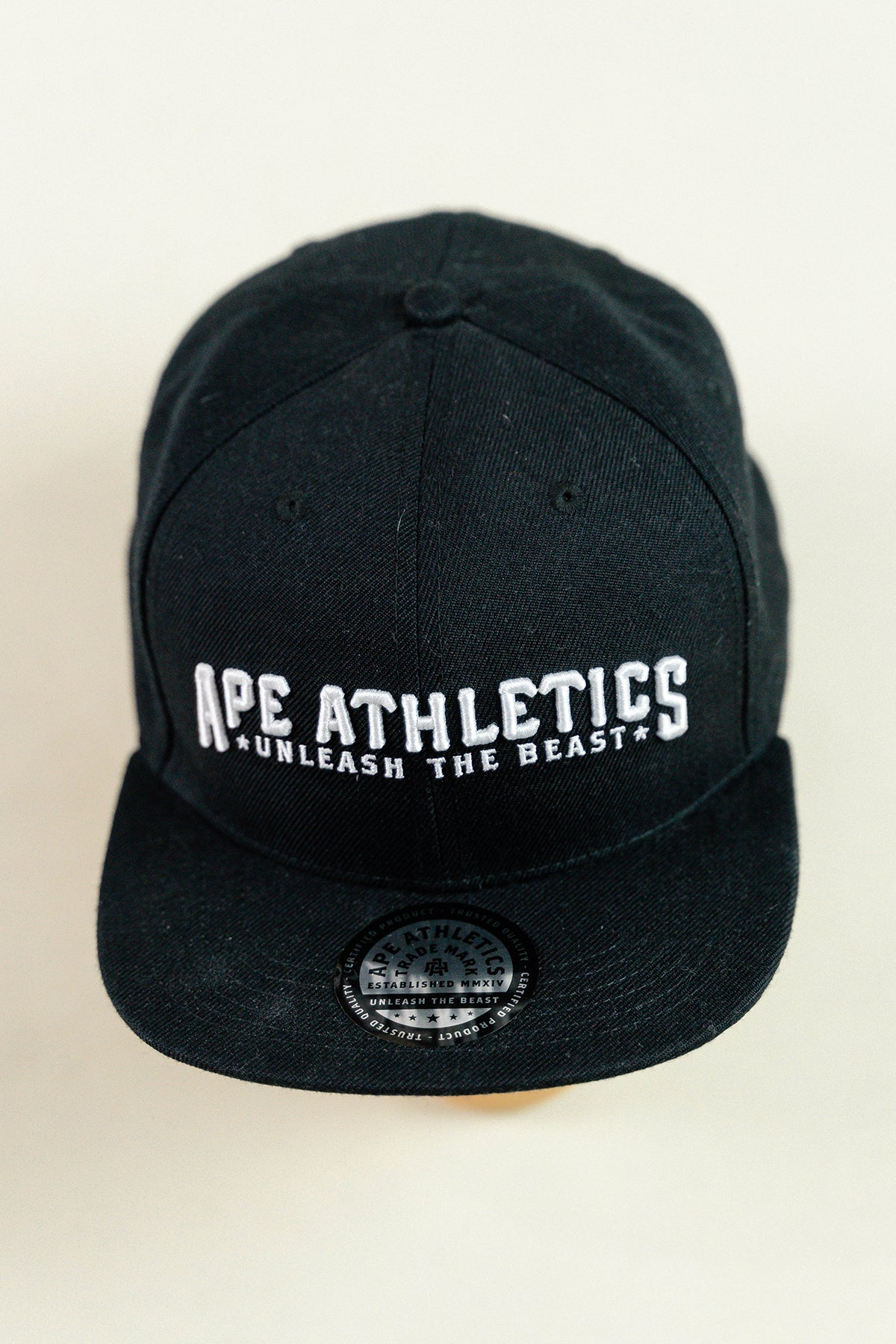 ApeAthletics Snapback - Black