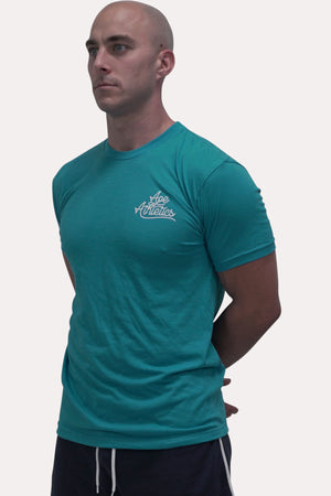 Athletic Tee SS19 - Turquoise