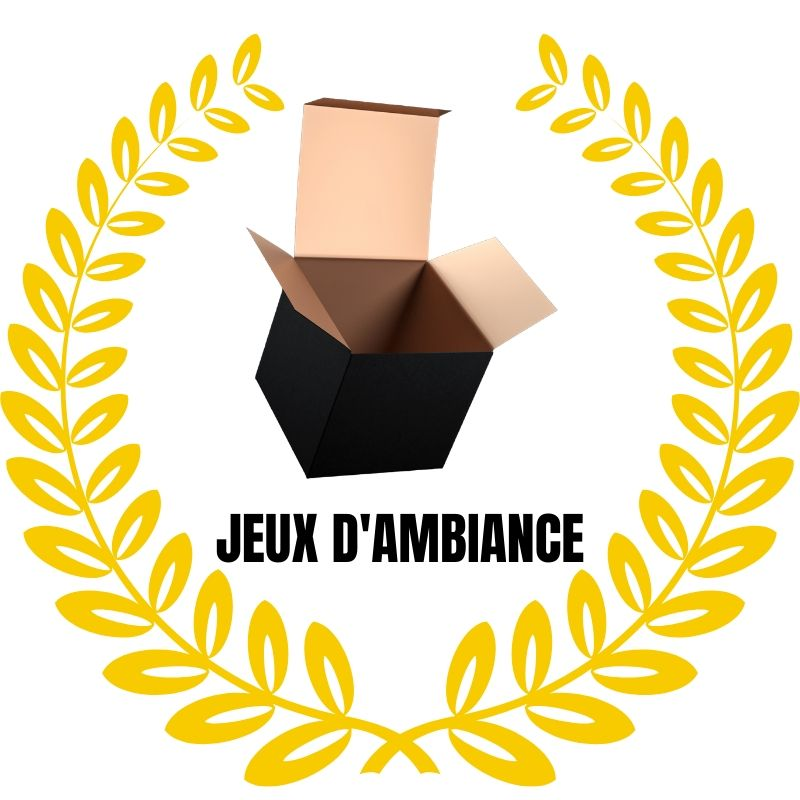 MyLudikBox - Jeux d'ambiance - Or