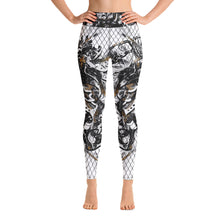 Load image into Gallery viewer, High Waist Leggings Marbles Massive Print