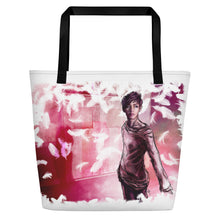 Load image into Gallery viewer, 'Save Me' featuring V of BTS - Beach Bag