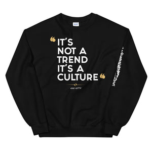 """CULTURED"" Unisex Sweatshirt"