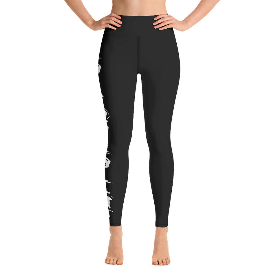 'NO music NO life' Yoga Leggings