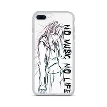 Load image into Gallery viewer, 'NO music NO life' iPhone Case
