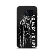 Load image into Gallery viewer, 'NO music NO life' Samsung Case