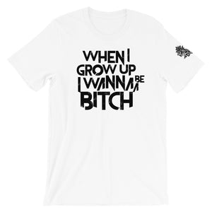 """All Grown Up""  Bold Unisex T-Shirt"