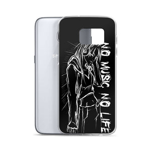 'NO music NO life' Samsung Case
