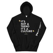 "Load image into Gallery viewer, ""CULTURED"" Unisex Hoodie"