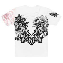 "Load image into Gallery viewer, ""Flower Power"" Massive Print Unisex Tee"